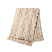 Go to Product: Caron Braided Cable Crochet Blanket in color