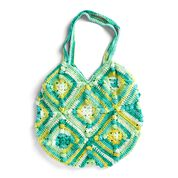 Go to Product: Peaches and Creme Popcorn Square Crochet Tote Bag in color