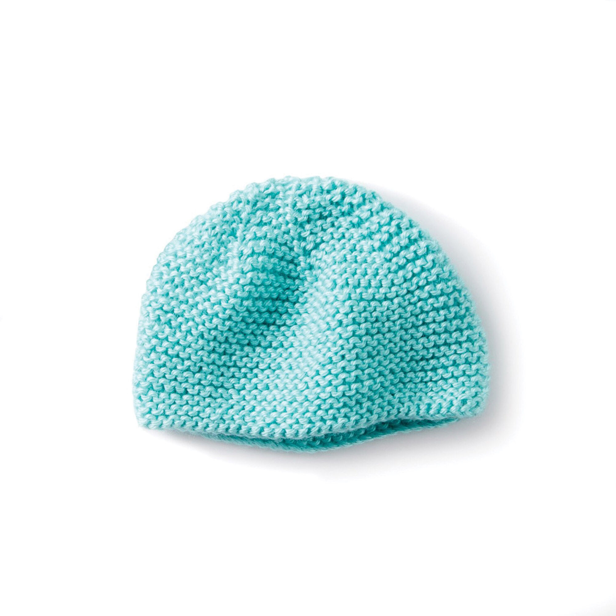 Caron Mini Garter Stitch Cap | Yarnspirations