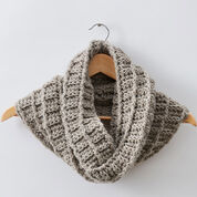 Go to Product: Patons Wafflin' Around Crochet Cowl in color