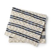 Go to Product: Bernat Moss Stitch Stripes Blanket in color