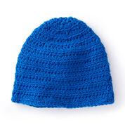 Caron Ridges Family Crochet Hat