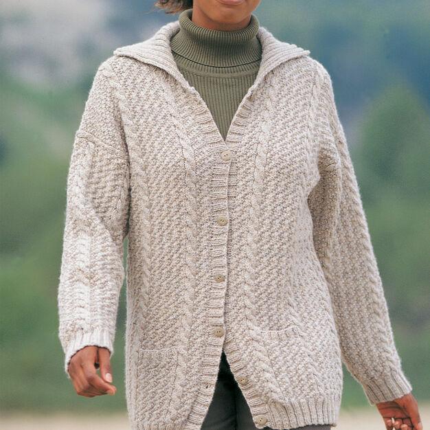 Patons Hepburn Cardigan, Classic Wool - S in color