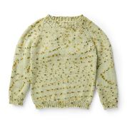 Caron Top Down Knit Baby Pullover, 6 mos