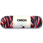Caron Simply Soft Stripes Yarn, Golden Gate Bridge - Clearance Shades*