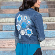 Go to Product: Aunt Lydia's Doilyed for Denim Jacket in color