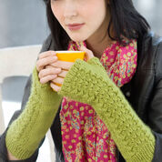 Go to Product: Red Heart Lettuce Knit Arm Warmers, S/M in color