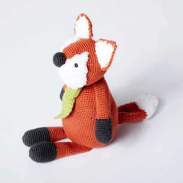 Caron Francis the Fox Doll in color
