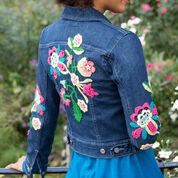 Aunt Lydia's Be-Flowered Denim Jacket
