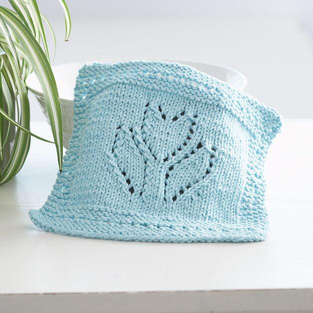 Lily Sugar'n Cream Spring Tulip Dishcloth