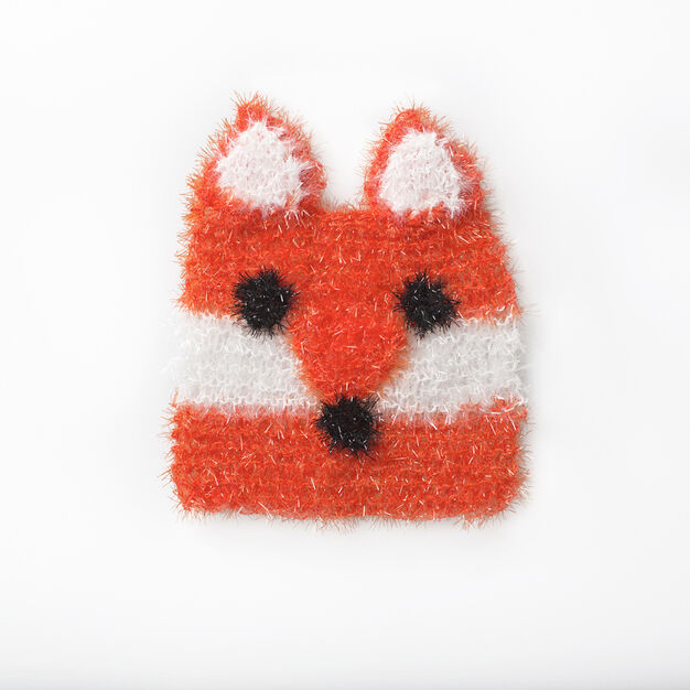 Red Heart Sly Fox Scrubby in color