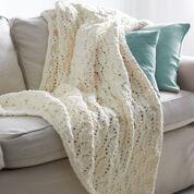 Bernat Seaside Blanket, Vintage White