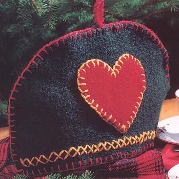 Patons Felted Tea Cozy