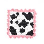 Lily Sugar'n Cream Cow Dishcloth