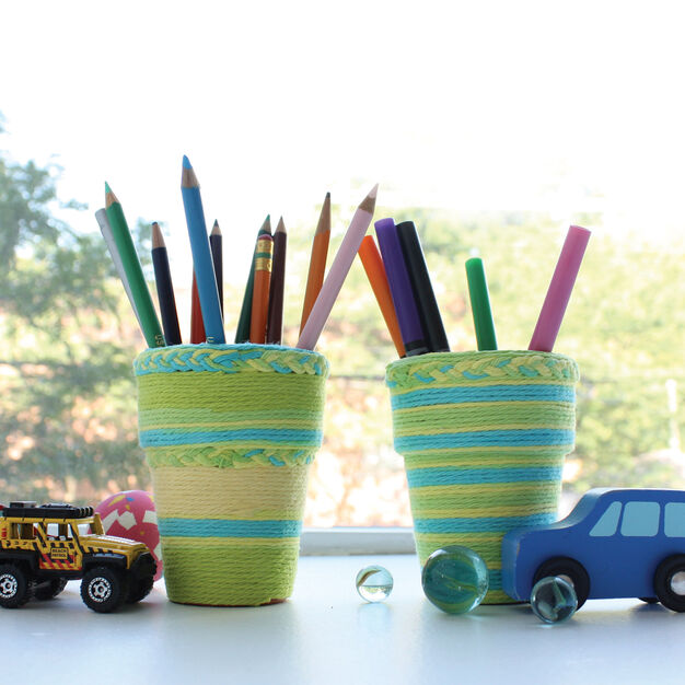 Lily Sugar'n Cream Pencil Holders, Version 1 in color