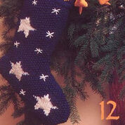 Patons Celestial Stocking, Decor