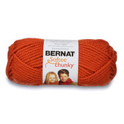 Go to Product: Bernat Softee Chunky Yarn (100g/3.5oz) in color Pumpkin