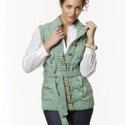 Go to Product: Caron Long Cabled Vest, S in color