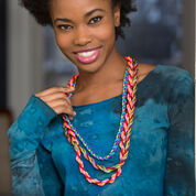 Go to Product: Red Heart A Trio of Twists Necklaces, Cable Car Twist in color
