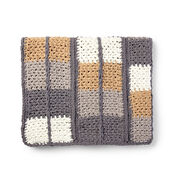 Bernat Keep In Check Crochet Blanket