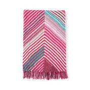 Go to Product: Bernat Book-Match Bias Knit Blanket in color