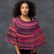Go to Product: Red Heart Dubonnet Poncho, Child in color