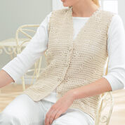 Patons Daisy Mesh Vest, XS