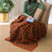 Go to Product: Red Heart Autumn Beauty Throw in color