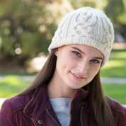 Go to Product: Red Heart Lattice Look Beanie, S in color