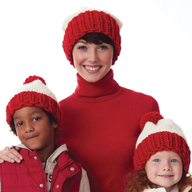 Bernat Winter Ready Hats, 2-4 yrs in color