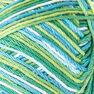 Bernat Handicrafter Cotton Ombres Yarn (340G/12 OZ), Emerald Energy in color Emerald Energy