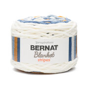 Go to Product: Bernat Blanket Stripes Yarn (300g/10.5 oz) in color Big Sky Country