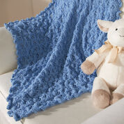 Red Heart Prince Blanket