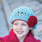 Patons Awesome Blossom Hat, 2/4 yrs