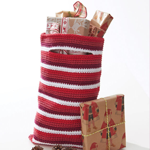 Lily Sugar'n Cream Striped Gift Bag