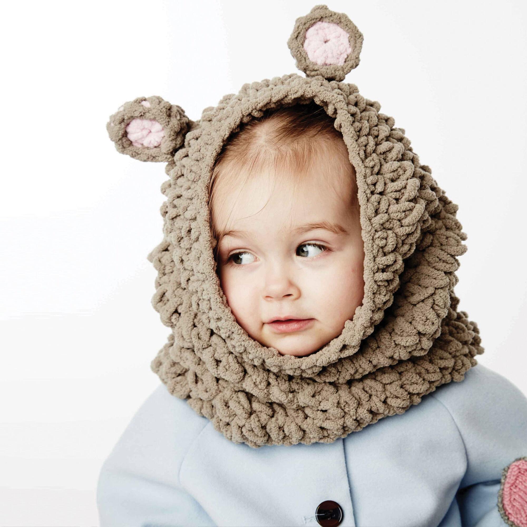 Bernat Mousie Snood, 12-18 months | Yarnspirations