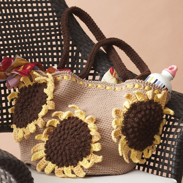 Lily Sugar'n Cream Sunflower Bag