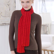 Go to Product: Red Heart Heartwarming Knit Scarf in color