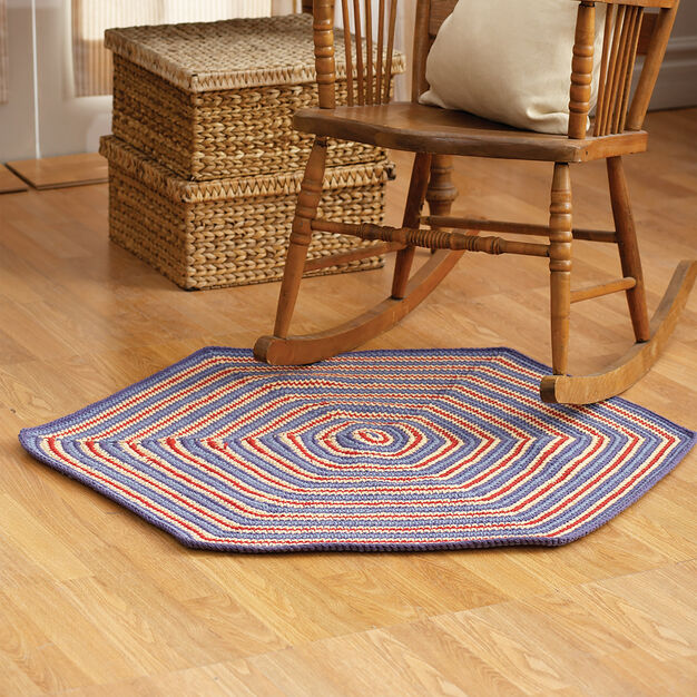 Lily Sugar'n Cream Circle Rug in color