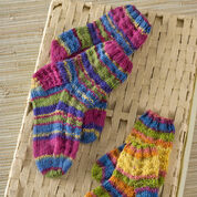 Go to Product: Red Heart Colorful Knit Kids Socks, 12 mos in color