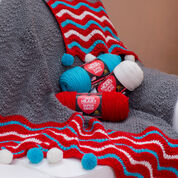 Go to Product: Red Heart Dashing Holiday Throw in color