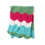 Go to Product: Red Heart Wavy Stripes Crochet Blanket in color