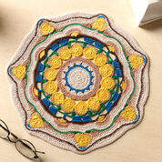 Go to Product: Aunt Lydia's Sun Blossom Mandala Doily in color
