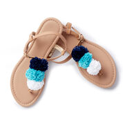 Go to Product: Patons Pompom Sandals in color