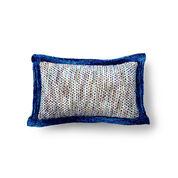 Bernat Knit and Weave Cushion