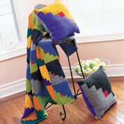 Go to Product: Patons Graphic Blocks, Afghan in color