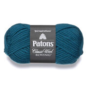 Go to Product: Patons Classic Wool Roving Yarn in color Pacific Teal