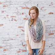 Red Heart Quick & Easy Arm- Knit Cowl