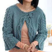 Go to Product: Patons Diagonal Cables Cardigan, XS/S in color