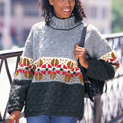 Go to Product: Patons Texture & Flowers pullover, S in color